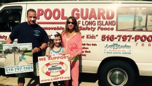 Pool Guard Supports ReesSpecht The Water!