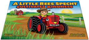 "Get your copy of ""A Little Rees Specht Cultivates Kindness"" here."