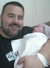 The first moment I held her...